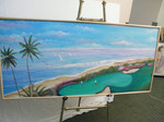 Golf Course II with Pond - 30x60