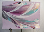 Lilac Wave - Mixed Acrylic - 22x30